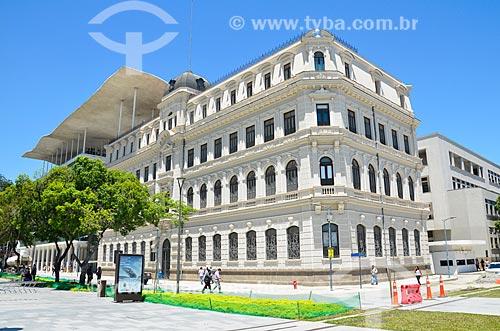 Fachada do Museu de Arte do Rio (MAR)  - Rio de Janeiro - Rio de Janeiro (RJ) - Brasil