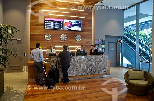 Interior do Prodigy Hotel Santos Dumont Airport  - Rio de Janeiro - Rio de Janeiro (RJ) - Brasil