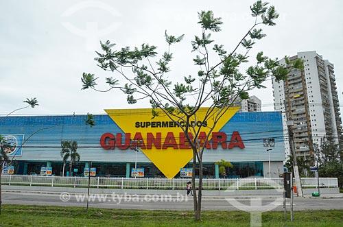 Fachada do Supermercados Guanabara  - Rio de Janeiro - Rio de Janeiro (RJ) - Brasil