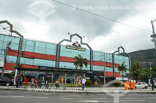 Fachada do Barra Point Shopping Center  - Rio de Janeiro - Rio de Janeiro (RJ) - Brasil