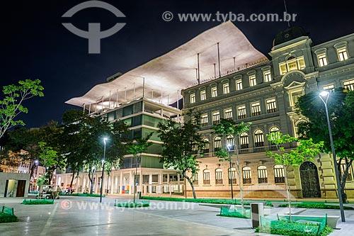 Fachada do Museu de Arte do Rio (MAR) à noite  - Rio de Janeiro - Rio de Janeiro (RJ) - Brasil