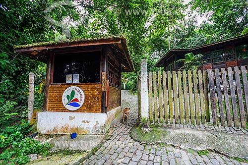 Entrada do Núcleo Pau-da-Fome - Sub-sede do Parque Estadual da Pedra Branca  - Rio de Janeiro - Rio de Janeiro (RJ) - Brasil