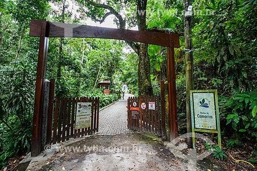 Entrada do Núcleo Camorim - Sub-sede do Parque Estadual da Pedra Branca  - Rio de Janeiro - Rio de Janeiro (RJ) - Brasil