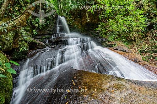 Vista da Cachoeira do Camorim no Núcleo Camorim - Sub-sede do Parque Estadual da Pedra Branca  - Rio de Janeiro - Rio de Janeiro (RJ) - Brasil