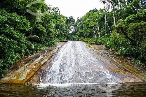 Cachoeira próxima a base da Companhia Estadual de Águas e Esgotos (CEDAE) - concessionária de serviços de tratamento de água e esgoto - no Parque Estadual da Pedra Branca  - Rio de Janeiro - Rio de Janeiro (RJ) - Brasil