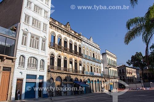 Prédio históricos da Praça Tiradentes  - Rio de Janeiro - Rio de Janeiro (RJ) - Brasil