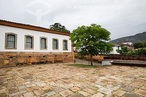Fachada do Museu de Santana - antiga cadeia de Tiradentes  - Tiradentes - Minas Gerais (MG) - Brasil