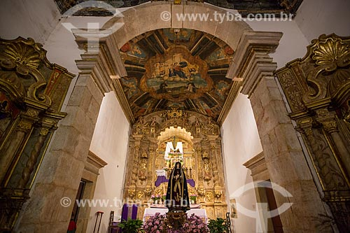 Altar da Igreja de Nossa Senhora do Rosário (1708)  - Tiradentes - Minas Gerais (MG) - Brasil