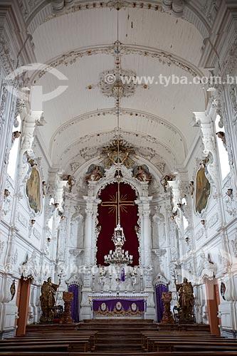 Interior da Igreja de Nossa Senhora do Carmo (1732)  - São João del Rei - Minas Gerais (MG) - Brasil