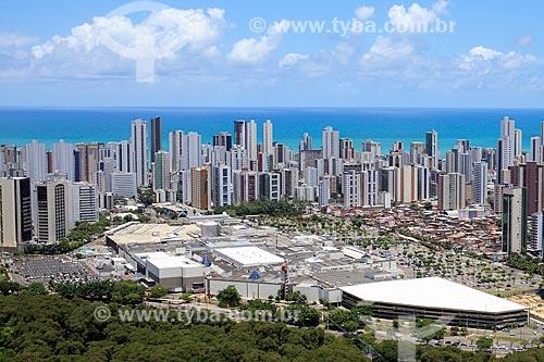 Foto aérea do Shopping Rio Mar  - Recife - Pernambuco (PE) - Brasil