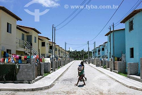 Conjunto habitacional do Programa Minha Casa Minha Vida na comunidade V8  - Olinda - Pernambuco (PE) - Brasil