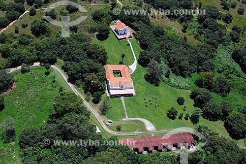 Foto aérea do Engenho Massangana Joaquim Nabuco  - Cabo de Santo Agostinho - Pernambuco (PE) - Brasil