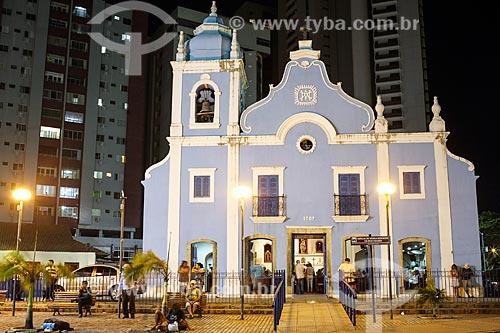 Fachada da Igreja de Nossa Senhora da Boa Viagem (1743)  - Recife - Pernambuco (PE) - Brasil