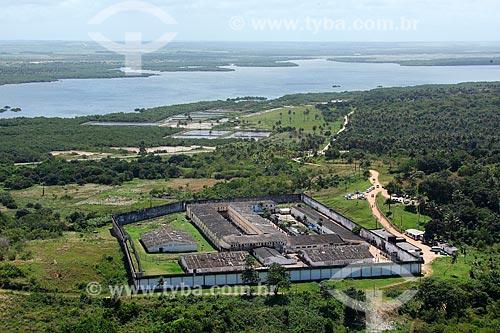 Foto aérea da Penitenciária Professor Barreto Campelo  - Ilha de Itamaracá - Pernambuco (PE) - Brasil
