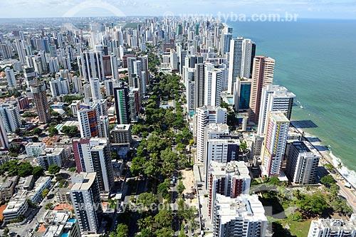 Foto aérea do bairro de Setúbal  - Recife - Pernambuco (PE) - Brasil