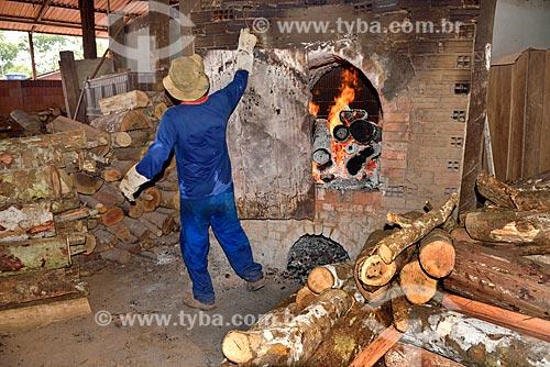 Forno em olaria na cidade de Macacapuru  - Manacapuru - Amazonas (AM) - Brasil