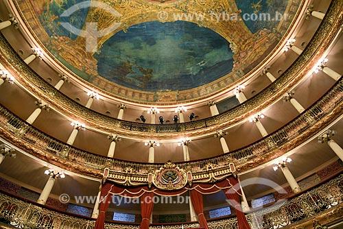 Brasão da República no interior do Teatro Amazonas (1896)  - Manaus - Amazonas (AM) - Brasil