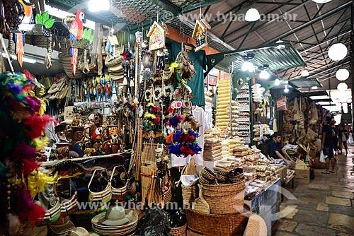 Barracas no Mercado Municipal Adolpho Lisboa (1883)  - Manaus - Amazonas (AM) - Brasil