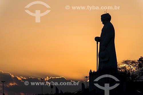 Estátua de Padre Cícero (1969) na Colina do Horto  - Juazeiro do Norte - Ceará (CE) - Brasil