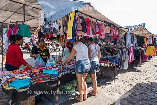 Barraca para venda de roupas  - Juazeiro do Norte - Ceará (CE) - Brasil