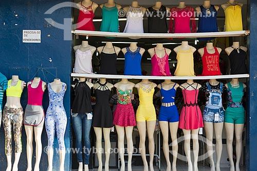 Manequins em loja de roupas  - Juazeiro do Norte - Ceará (CE) - Brasil
