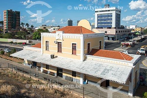 Fachada da antiga Estação Ferroviária da Leste Brasileira (1923)  - Petrolina - Pernambuco (PE) - Brasil