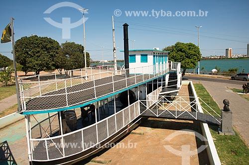 Vapor Saldanha Marinho - Primeiro barco de navegação do Rio São Francisco  - Juazeiro - Bahia (BA) - Brasil