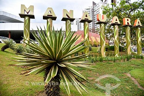 Fachada do Manauara Shopping  - Manaus - Amazonas (AM) - Brasil