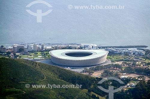 Vista geral do Estádio da Cidade do Cabo (2009)  - Cidade do Cabo - Província do Cabo Ocidental - África do Sul