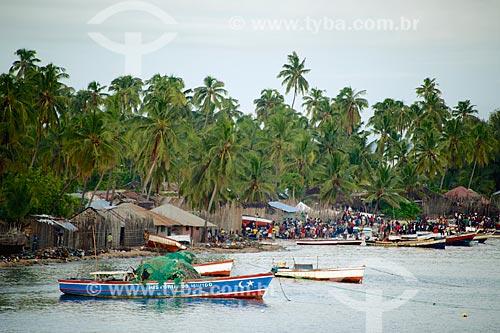 Colônia de pescadores no distrito de Pemba  - Distrito de Pemba - Província de Cabo Delgado - Moçambique