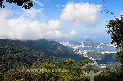 Vista geral a partir da trilha do Morro do Queimado  - Rio de Janeiro - Rio de Janeiro (RJ) - Brasil