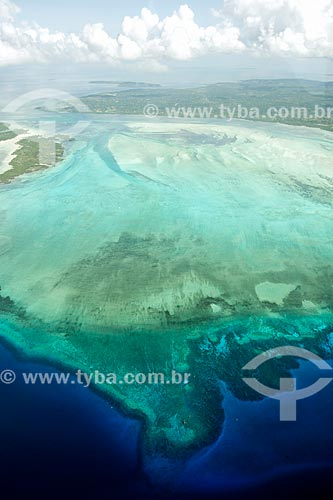 Foto aérea da Ilha de Pemba  - Ilha de Pemba - Tanzânia