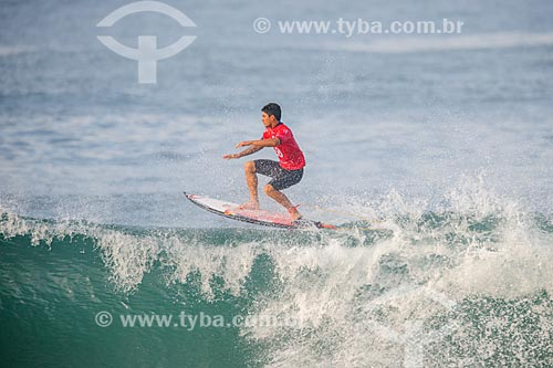 Gabriel Medina surfando na etapa brasileira do WSL (Liga Mundial de Surfe) WSL Oi Rio Pro 2016 na Praia de Grumari  - Rio de Janeiro - Rio de Janeiro (RJ) - Brasil
