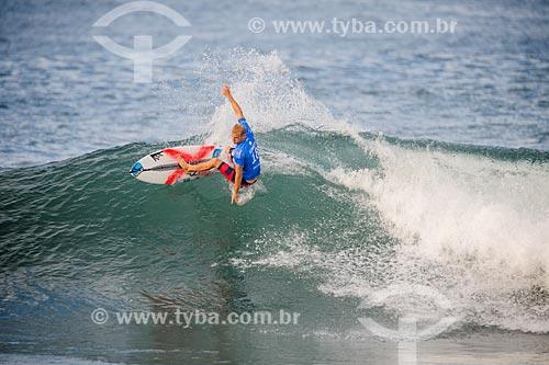 Stuart Kennedy surfando na etapa brasileira do WSL (Liga Mundial de Surfe) WSL Oi Rio Pro 2016 na Praia de Grumari  - Rio de Janeiro - Rio de Janeiro (RJ) - Brasil