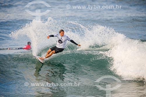 Leonardo Fioravanti surfando na etapa brasileira do WSL (Liga Mundial de Surfe) WSL Oi Rio Pro 2016 na Praia de Grumari  - Rio de Janeiro - Rio de Janeiro (RJ) - Brasil