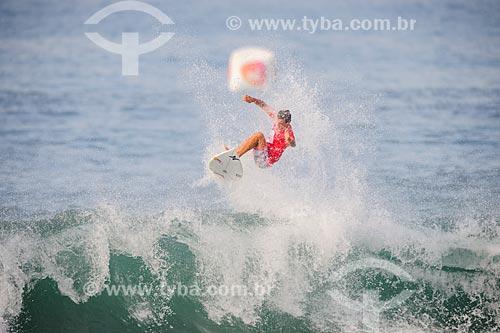 Julian Wilson surfando na etapa brasileira do WSL (Liga Mundial de Surfe) WSL Oi Rio Pro 2016 na Praia de Grumari  - Rio de Janeiro - Rio de Janeiro (RJ) - Brasil