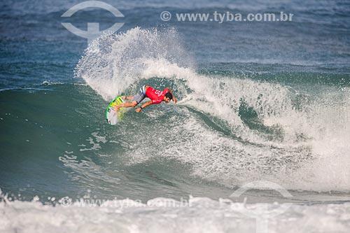 Italo Ferreira surfando na etapa brasileira do WSL (Liga Mundial de Surfe) WSL Oi Rio Pro 2016 na Praia de Grumari  - Rio de Janeiro - Rio de Janeiro (RJ) - Brasil
