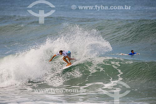 Lucas Silveira surfando na etapa brasileira do WSL (Liga Mundial de Surfe) WSL Oi Rio Pro 2016 na Praia de Grumari  - Rio de Janeiro - Rio de Janeiro (RJ) - Brasil