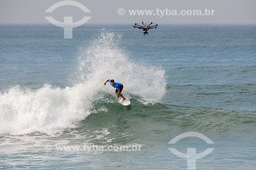 Keanu Asing surfando na etapa brasileira do WSL (Liga Mundial de Surfe) WSL Oi Rio Pro 2016 na Praia de Grumari  - Rio de Janeiro - Rio de Janeiro (RJ) - Brasil