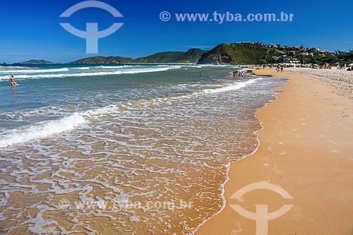 Orla da Praia de Geribá  - Armação dos Búzios - Rio de Janeiro (RJ) - Brasil