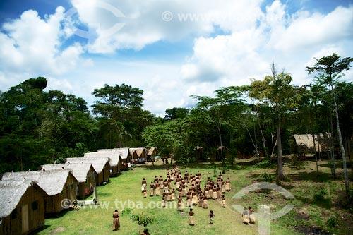 Festival Yawanawá na aldeia da tribo Yawanawá  - Tarauacá - Acre (AC) - Brasil