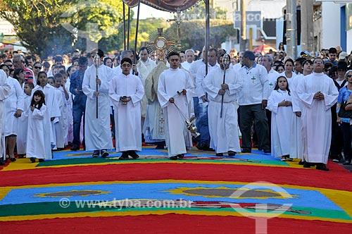 Procissão de Corpus Christi  - Matão - São Paulo (SP) - Brasil