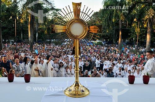 Missa Campal no dia de Corpus Christi  - Matão - São Paulo (SP) - Brasil