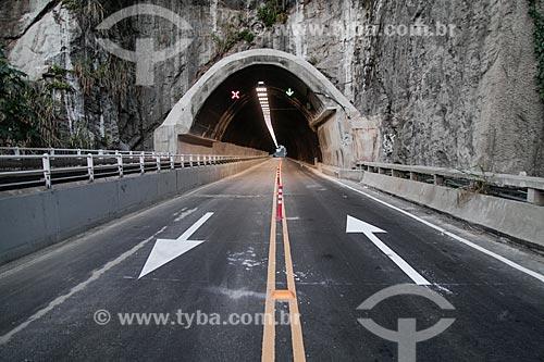Túnel no Elevado do Joá - 1972 - (Elevado das Bandeiras)  - Rio de Janeiro - Rio de Janeiro (RJ) - Brasil