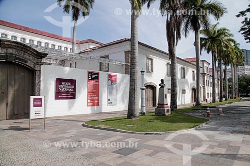Fachada do Museu Histórico Nacional  - Rio de Janeiro - Rio de Janeiro (RJ) - Brasil