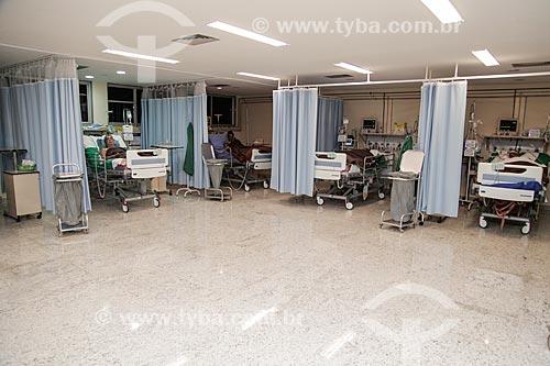 Leitos de UTI (Unidade de Tratamento Intensívo) no Hospital Souza Aguiar  - Rio de Janeiro - Rio de Janeiro (RJ) - Brasil
