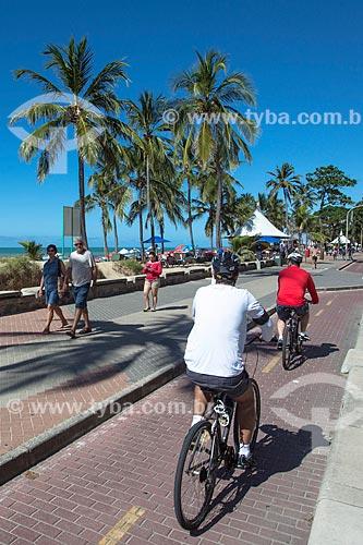 Ciclovia na orla da Praia da Boa Viagem  - Recife - Pernambuco (PE) - Brasil