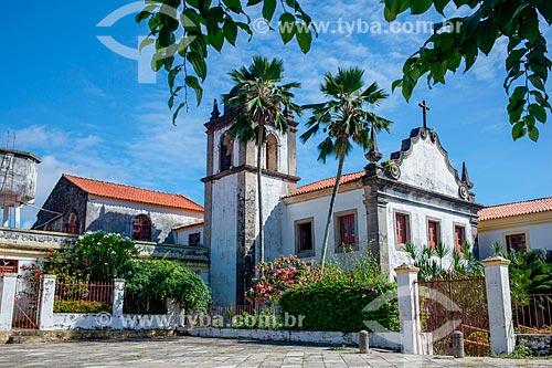 Fachada da Igreja e Convento de Nossa Senhora da Conceição (século XVI)  - Olinda - Pernambuco (PE) - Brasil