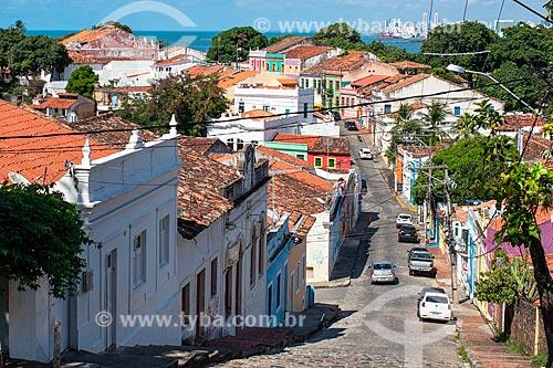 Vista geral da Ladeira da Misericórdia  - Olinda - Pernambuco (PE) - Brasil