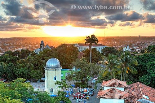 Pôr do sol no Alto da Sé  - Olinda - Pernambuco (PE) - Brasil